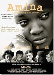 Amina Premiere Poster