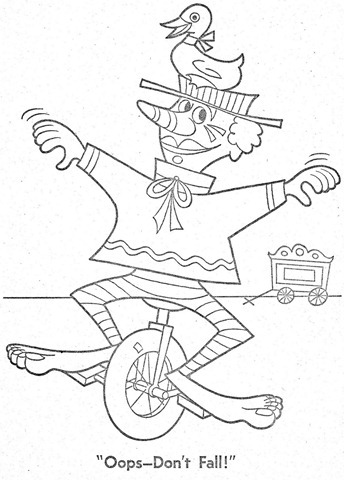 palhaço-colorir-Clowns To Color-coloring page-00016