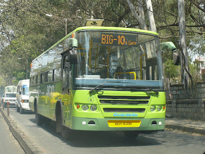 Big10 service to Hosur Road