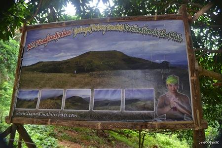 Mt. Gulugod Baboy/Pinagbanderahan tarp with Pabio