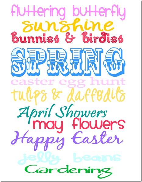 Spring Printable SJB