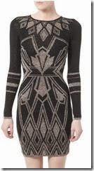 Alice by Temperley Metallic Knit Jumper Dress