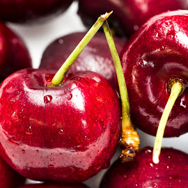 Giant cherries by Andre Lindo - Food & Drink Fruits & Vegetables