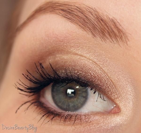 Desire beauty blog tutorial braune smokey eyes f r den for Smokey eyes blau