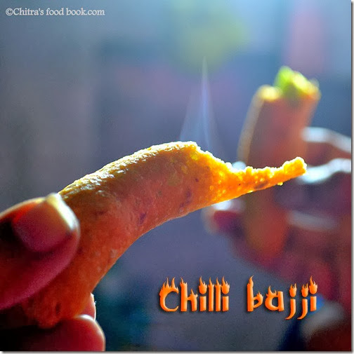 chilli hot bajji