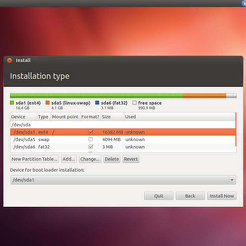 Instalar Ubuntu junto a Windows 8.1 en sistemas con UEFI activado.