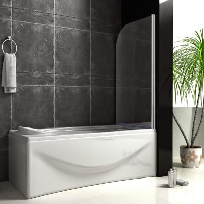 800X1400mm Chrome 180° Pivot Shower Bath Screen Easy Clean Glass<br />FREE postage to most England areas.<br /><br /><br />Size 800X1400mm(adjustment 780~800mm)<br />UNIVERSAL fitting - can be fitted to left or right hand, easy installation.<br />Swings through 180 degrees for ease of access, suited to different bathroom layout.<br />5mm safety tempered easyclean glass,BS6206 & CE certified.<br />High quality polished chrome frame which will not discolour.<br />The aluminum frame is thicker and wider to make it be better quality.<br />20mm out of true wall adjustment.<br />All screws are made of stainless steel, resistant to rust, lifetime guarantee.<br />Passed multiple waterproof tests.<br />Includes fitting kit.<br /><br /><br />Aica Bathrooms Ltd