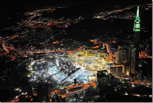 Mekka by night