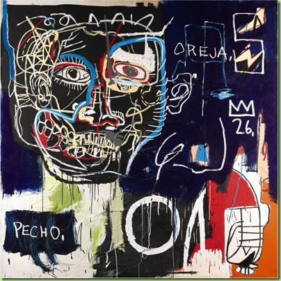 basquiat untitled pecho