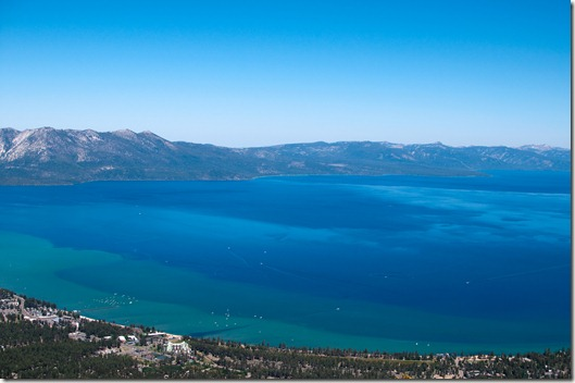 Lake Tahoe from Heavenly Gondola Observation Deck
