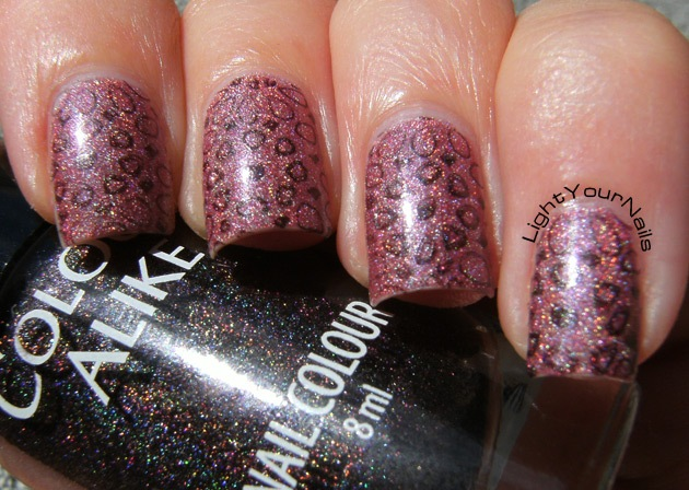 m85 holographic stamping