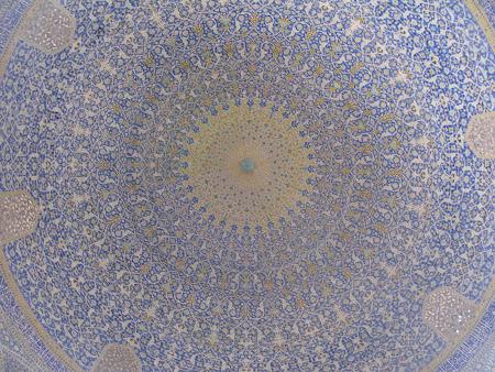 Arta persana: cupola de moschee Iran