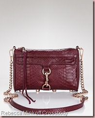 Rebecca Minkoff Croc Embossed Mini Mac Crossbody2