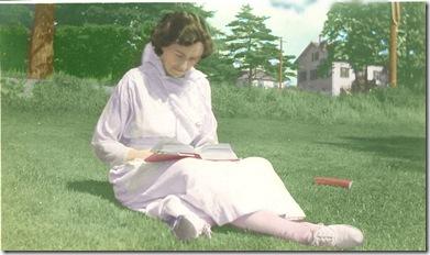 Josephine reading