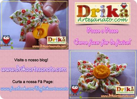 7 Passo a Passo como fazer fuxico Drika Artesanato post