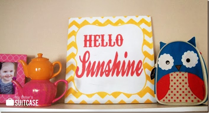 Hello Sunshine_shelf