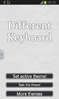 Screenshot of Different Keyboard for Phone