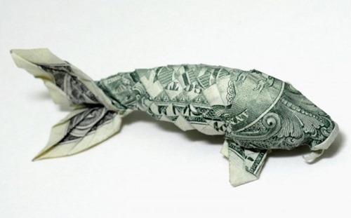Origami de dinheiro 09