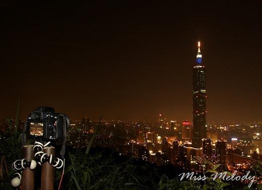 象山 101夜景 JOBY Gorillapod SLR-ZOOM 章魚腳架