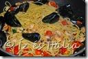 Spagetti tenger gyümölcseivel