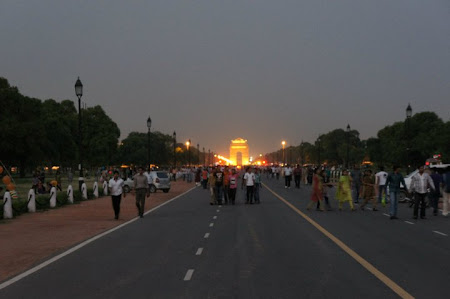 Monumente Delhi: Gate of India