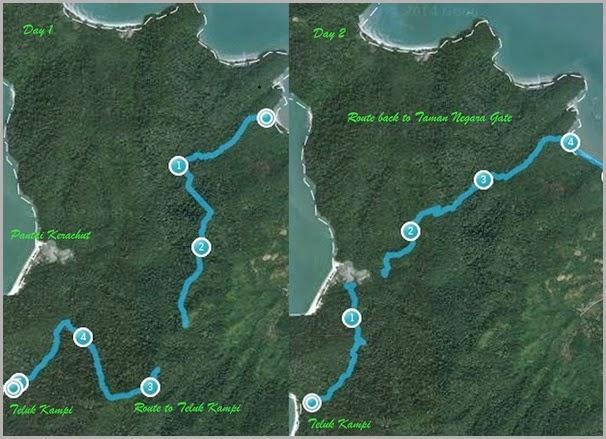 Teluk Kampi 15-16 March