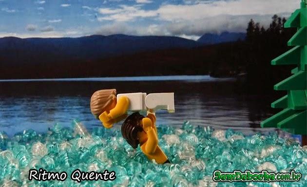 FILMES RECRIADOS EM LEGO: RITMO QUENTE!