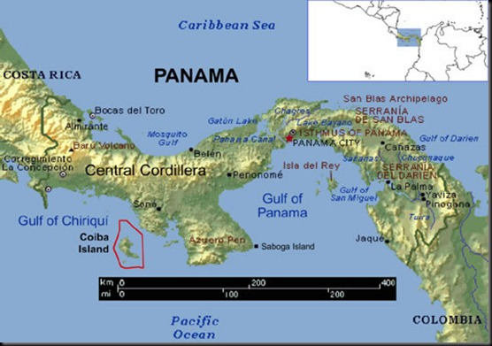 Coiba location
