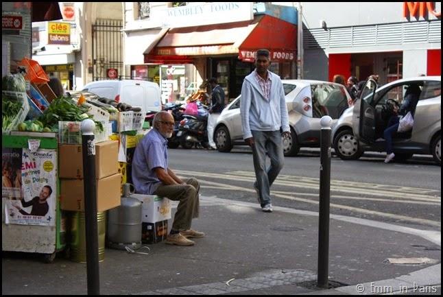 Street scene in the 10th Arr