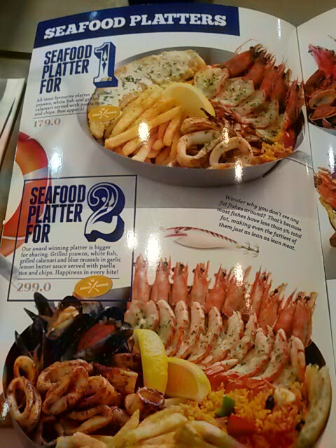 My culinary adventure fish co jogja for Z kitchen jogja menu