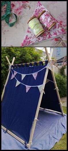 tent & bunting