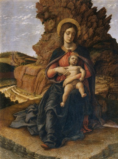 MadonnaoftheCavebyAndreaMantegna