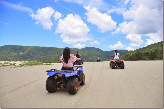 Taiwan 10 days Travel, Kenting 墾丁 ATV Biao Sha