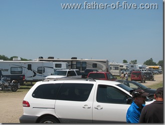 Overview of the RV park