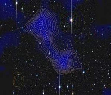 filamentos que unem os aglomerados de galáxia