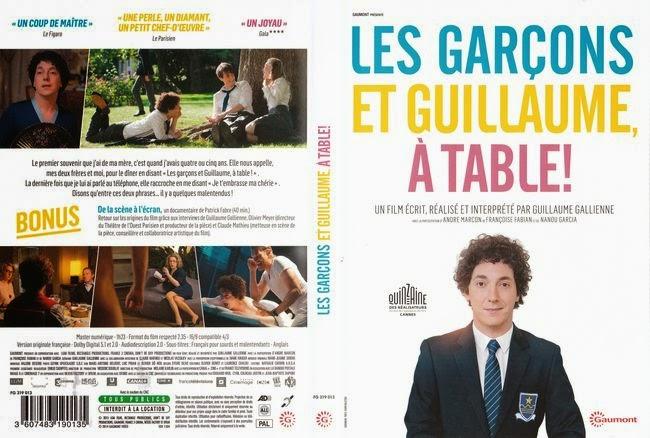 Guillaume y los chicos, ¡a la mesa! – Castellano – DVD9