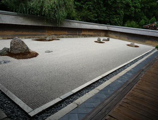 japão- kyoto-Ryoan-ji - Glória Ishizaka