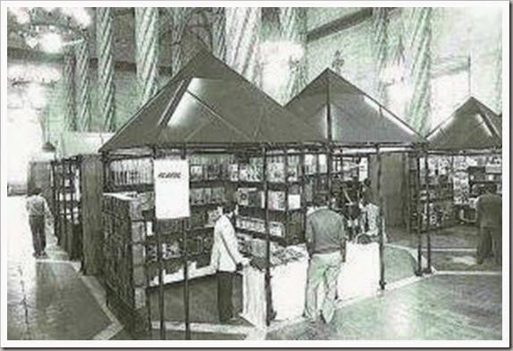 Feria del libro en la lonja
