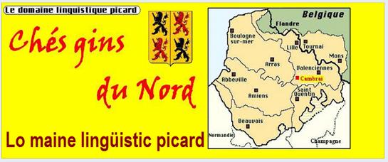 mapa del maine lingüistic picard