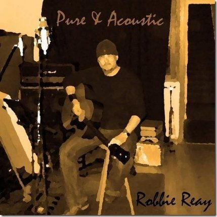 cover album Pure-and-Acoustic-Robbie-Reay