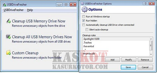 Menghapus Thumbs.db Temporary file di USB Flash Disk
