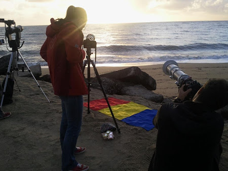 Imagini Cairns: tricolorul e gata de eclipsa