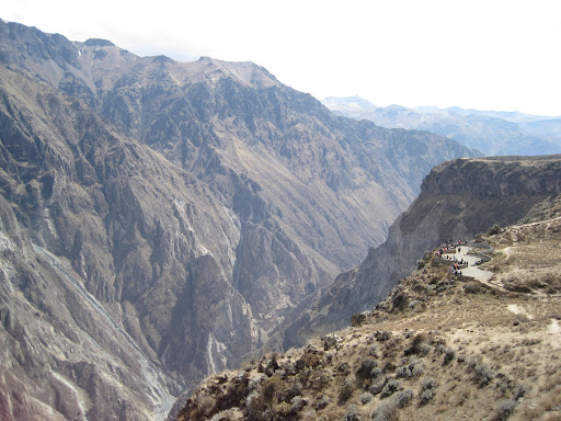 Cruz del Condor lookout point, Colca Canyon