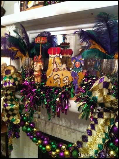 Mardi Gras House Decorations