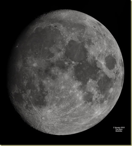 2 January 2015 Moon Mosaic