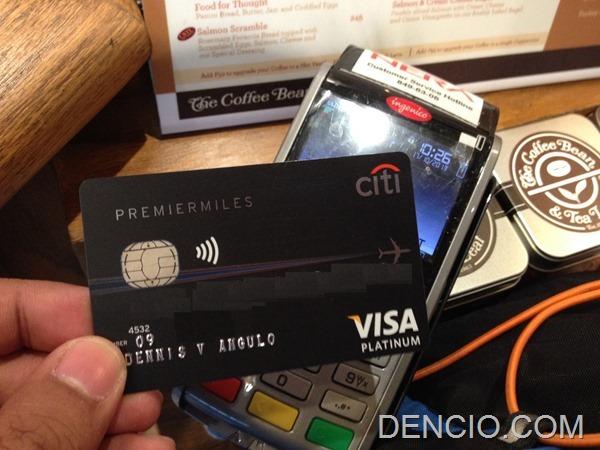 Citibank Visa PayWave Philippines 03
