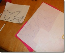 tracing butterflies