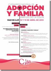 Primer Congreso Nacional de Adopción y Familia en La Costa