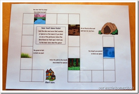 Bear Hunt Preschool Pack