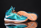 nike lebron 10 gr miami dolphins 2 04 Gallery: Nike LeBron X Miami Setting or Dolphins if you Like